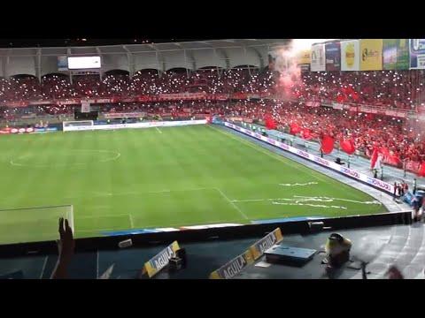 EL AGUANTE ES LO PRIMERO QUE APRENDÍ  (AMERICA 1 VS pereira1) (4/9/2016) - Baron Rojo Sur - América de Cáli