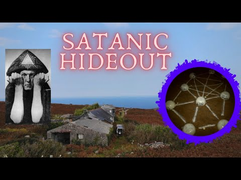DEMONIC RITUALS INSIDE ABANDONED SATANIC HIDEOUT OF ALEISTER CROWLEY