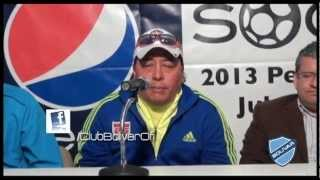 conferencia de prensa pepsi international soccer cup