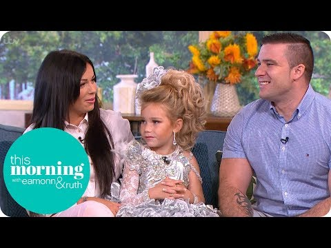 We Are Not Sexualising Our 4-Year-Old Beauty Queen Daughter | This Morning