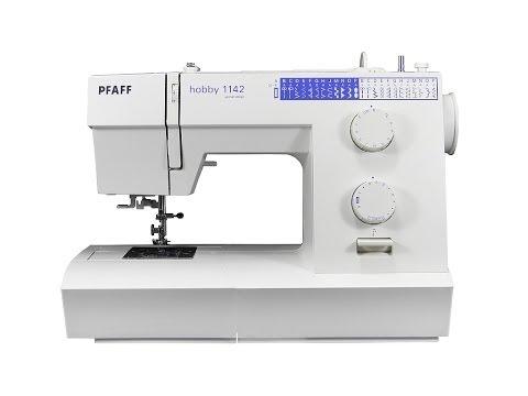 PFAFF hobby 1142 Nähmaschine deutsch