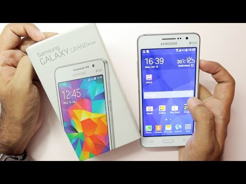 Samsung Galaxy Grand Prime Unboxing & Hands On Overview