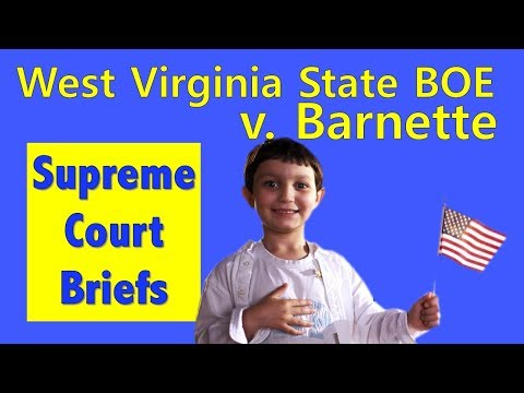 Do You Have To Say The Pledge Of Allegiance? | West Virginia State Board Of Education V. Barnette