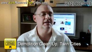 http://www.junkremovaltwincities.com $68 Junk removal in Minneapolis 612-466-0755 Demolition clean up. Free quote, same day...