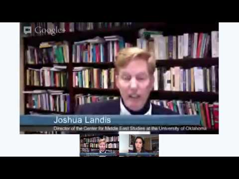Professor Landis speaks on the Future of Syria