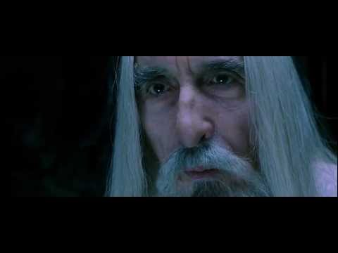saruman - Lord of the Rings. Fellowship of the Ring Extended HD 1080p Xvid AC3. Watch in 1080p fullscreen, enjoy. Medivh. Smoke rises from the mountain of Doom. The ho...