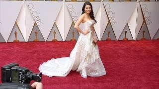 Auli'i Cravalho 2017 Oscars Red Carpet Video