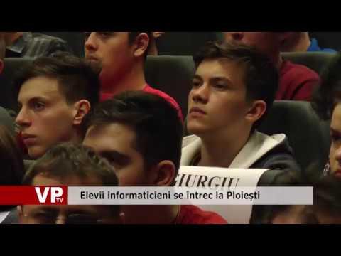 Elevii informaticieni se întrec la Ploiești