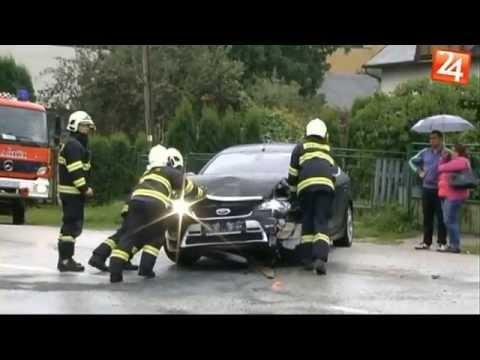 Dopravná nehoda na ulici Košickej