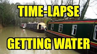 06/01/2016 Time-lapse: A Trip to the Water Point (and back) at Thrupp on the Oxford canal