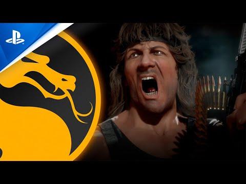 Mortal Kombat 11 Ultimate   Trailer oficial de Gameplay do Rambo   PS4, PS5