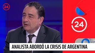 Analista internacional: Argentina está en crisis, pero un escenario como el de 2001 es inviable