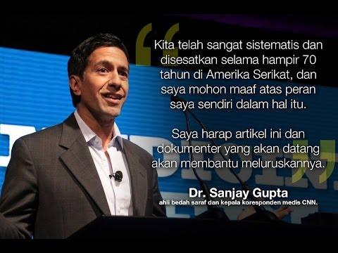 WEED (Ganja), Dr Sanjay Gupta, CNN Special, teks Bahasa Indonesia