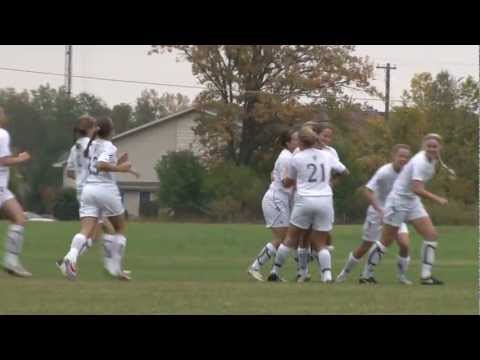 Alma College Women's Soccer - October 3, 2012