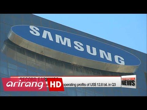 Samsung predicts record profits for third quarter