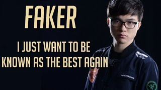 Hey guys! Since everyone took my last video on Faker as an insult, I just wanted to show you guys that even the world's best player go on losing sprees too! But now here is a video that shows his good side once again, despite everyone saying he wasn't as good as he used to be.Songs:Varien - Sacred WoodsSubtact - Tunnel Vision