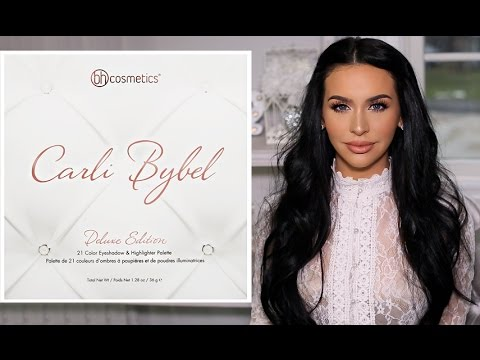 CARLI BYBEL DELUXE EDITION PALETTE  FIRST LOOK & SWATCHES!