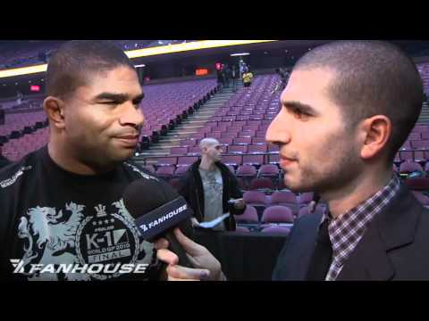 Alistair Overeem on Fedor Loss It Was Not Really a Big Shock