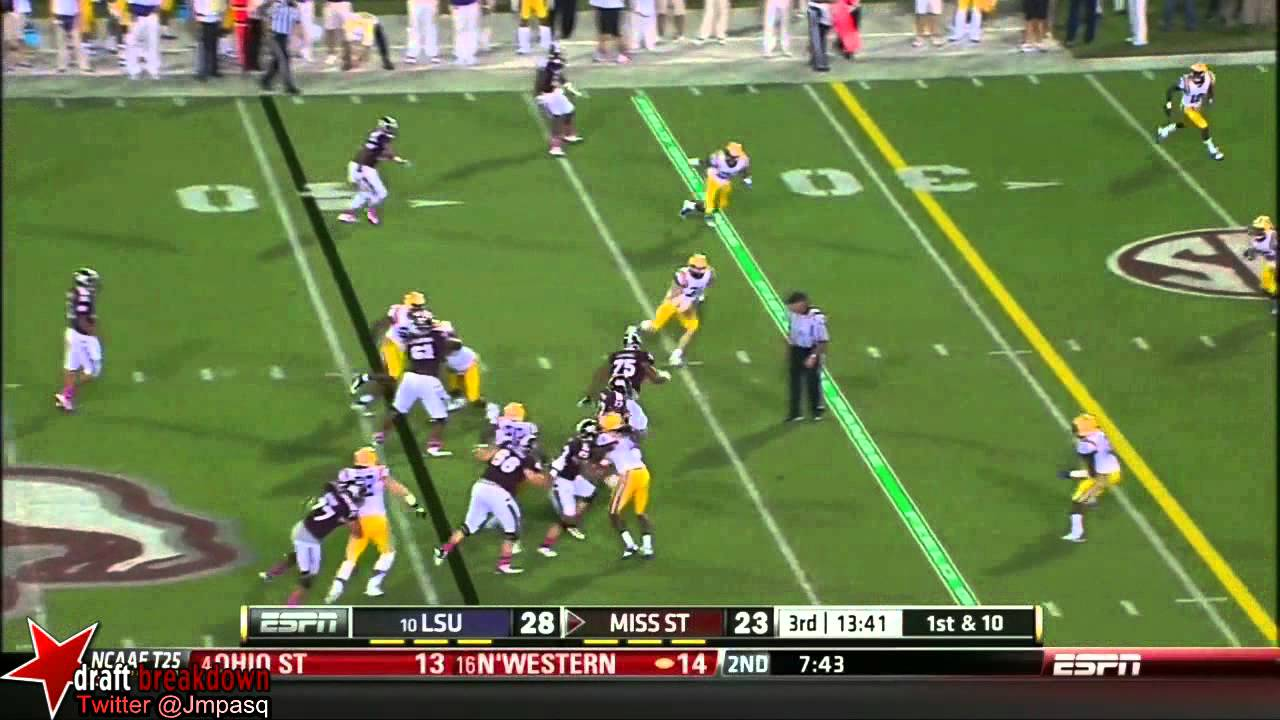 Anthony Johnson vs Mississippi State (2013)