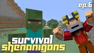 Minecraft Xbox 360: Survival Shenanigans w/ Friends! Ep.6! (Prank Fails!)