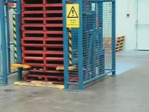 Pallet Dispensers from Safetech