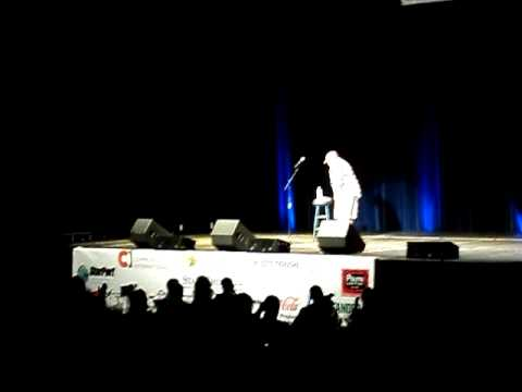 Reno Collier introduces Larry the Cable Guy in Daytona, FL