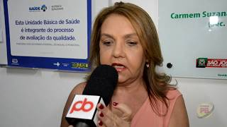 Secretária de Saúde fala da Inauguração da UBS em São José da Lagoa Tapada