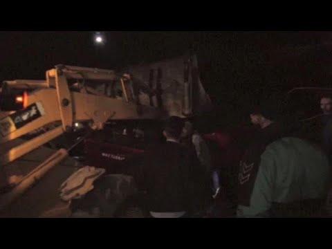 Τουλάχιστον 13 νεκροί μετά από ανατροπή λεωφορείου στα Σκόπιθα…