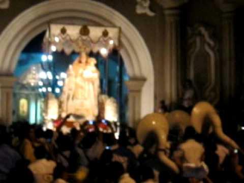 Solemne entrada de la Imagen de la Virgen de Mercedes, Patrona de León.