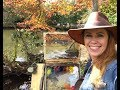 Plein Air Painting with Jessica Henry- A Pond and Fall Colors