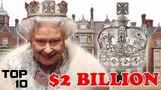 Video Top 10 Expensive Things Queen Elizabeth Owns MP3, 3GP, MP4, WEBM, AVI, FLV Juli 2018