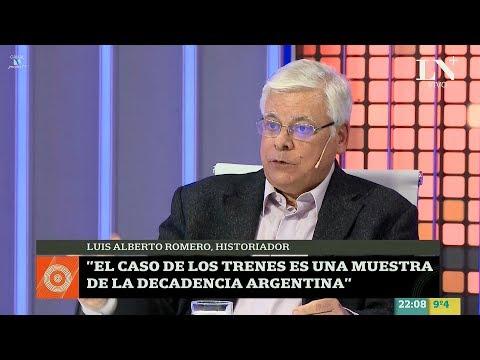 Luis Alberto Romero con Carlos Pagni – Odisea Argentina – Canal LN+ (La Nación +) 10/07/2017