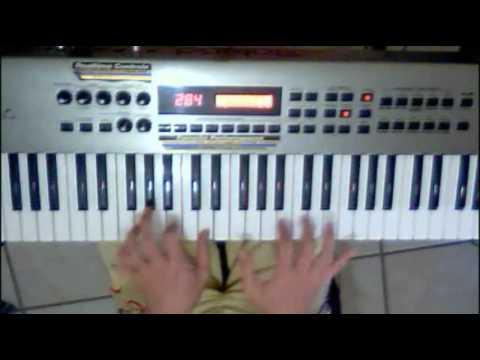 Montuno de Piano en clave 2x3