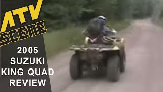 9. 2005 Suzuki King Quad 700 4x4 Ride Test