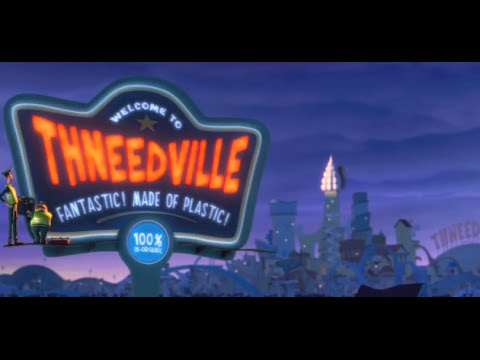 """Dr. Seuss' The Lorax """"Welcome to Thneedville"""" -Official HD 1080p Subs-"""