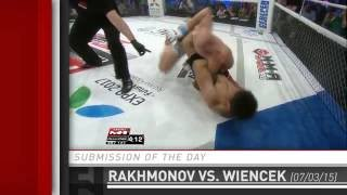 Submission of the Day: Shavkat Rakhmonov's 49 Second Guillotine Choke at M-1 Challenge 59 by Fight Network