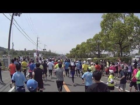 交野マラソン2018 видео