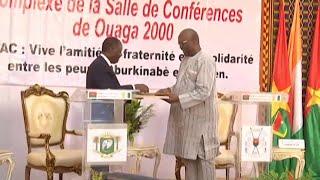 Politique, 11 accords bilatéraux conclus avec la Côte d'Ivoire Abonnez-vous à la chaine: http://bit.ly/1ngI1CQ Like notre page...