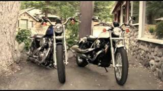 1. 2010 Honda Shadow RS Motorcycle vs. 2010 Harley-Davidson 883 Low Motorcycle