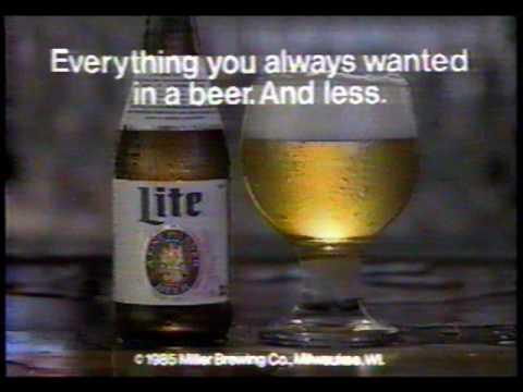 Miller lite beer Commercial madden John Madden