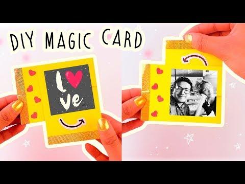 Tarjetas de amor - DIY TARJETITAS MÁGICAS QUE REVELAN MENSAJE SECRETO ¡SUPER FÁCIL! #SanValentín COOKIES IN THE SKY