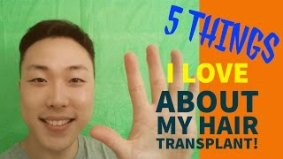 Video 5 Things I LOVE About My Hair Transplant! MP3, 3GP, MP4, WEBM, AVI, FLV Juli 2018
