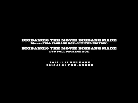 BIGBANG10 THE MOVIE - 'BIGBANG MADE' Blu-ray / DVD PROMO SPOT