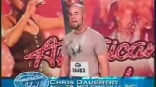 Video Chris Daughtry - American Idol Audition MP3, 3GP, MP4, WEBM, AVI, FLV Juli 2018