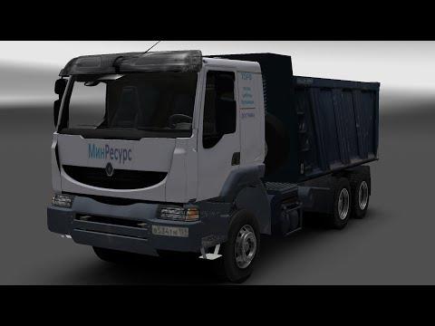 Renault Kerax + Trailer