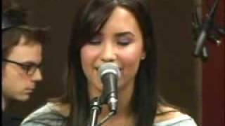 Demi Lovato - La La Land live @ Kidd Kraddick April 28 2009