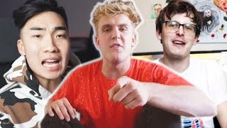 Jake Paul GOES AFTER RiceGum & Clout House & Praises iDubbbz, REAL Jake Paul EXPOSED