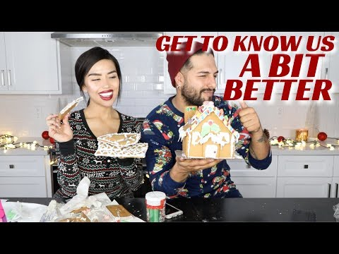 Q&A WITH SEBASTIAN WHILE BUILDING GINGERBREAD HOUSES | Iluvsarahii