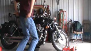 9. How To Do An Oil Change On A Honda Shadow Spirit 750 Part 2: Removal Of Old Oil And Oil Filter