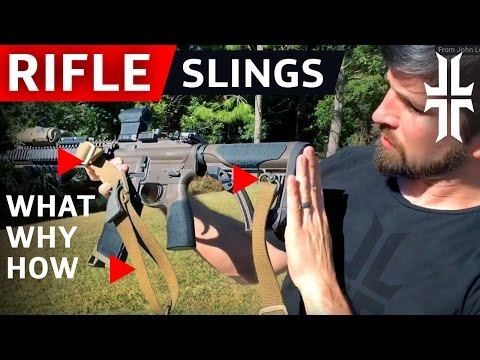 Rifle Slings: WHAT to get, WHY to get it, and HOW to run it (видео)